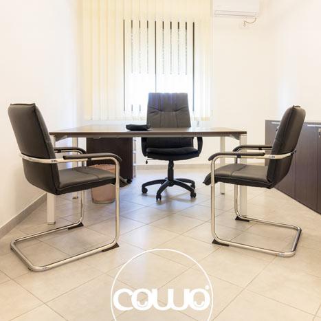 Ufficio allo spazio Coworking Crotone